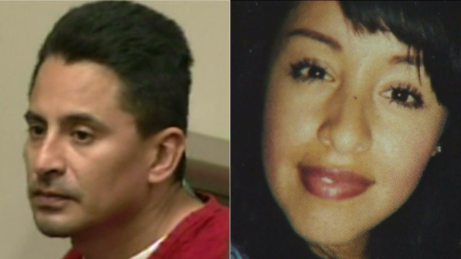 Jesse Perez Torres and Norma Lopez are seen in file photos from KTLA.