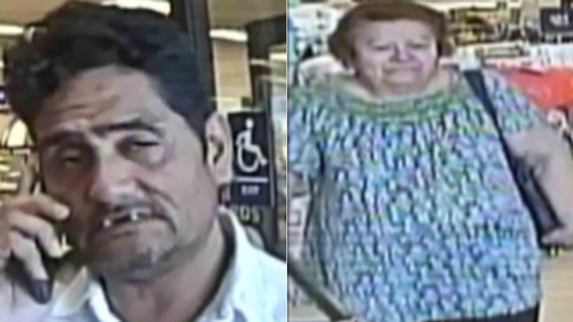 The Los Angeles County Sheriff's Department released these suspect photos on March 20, 2019.