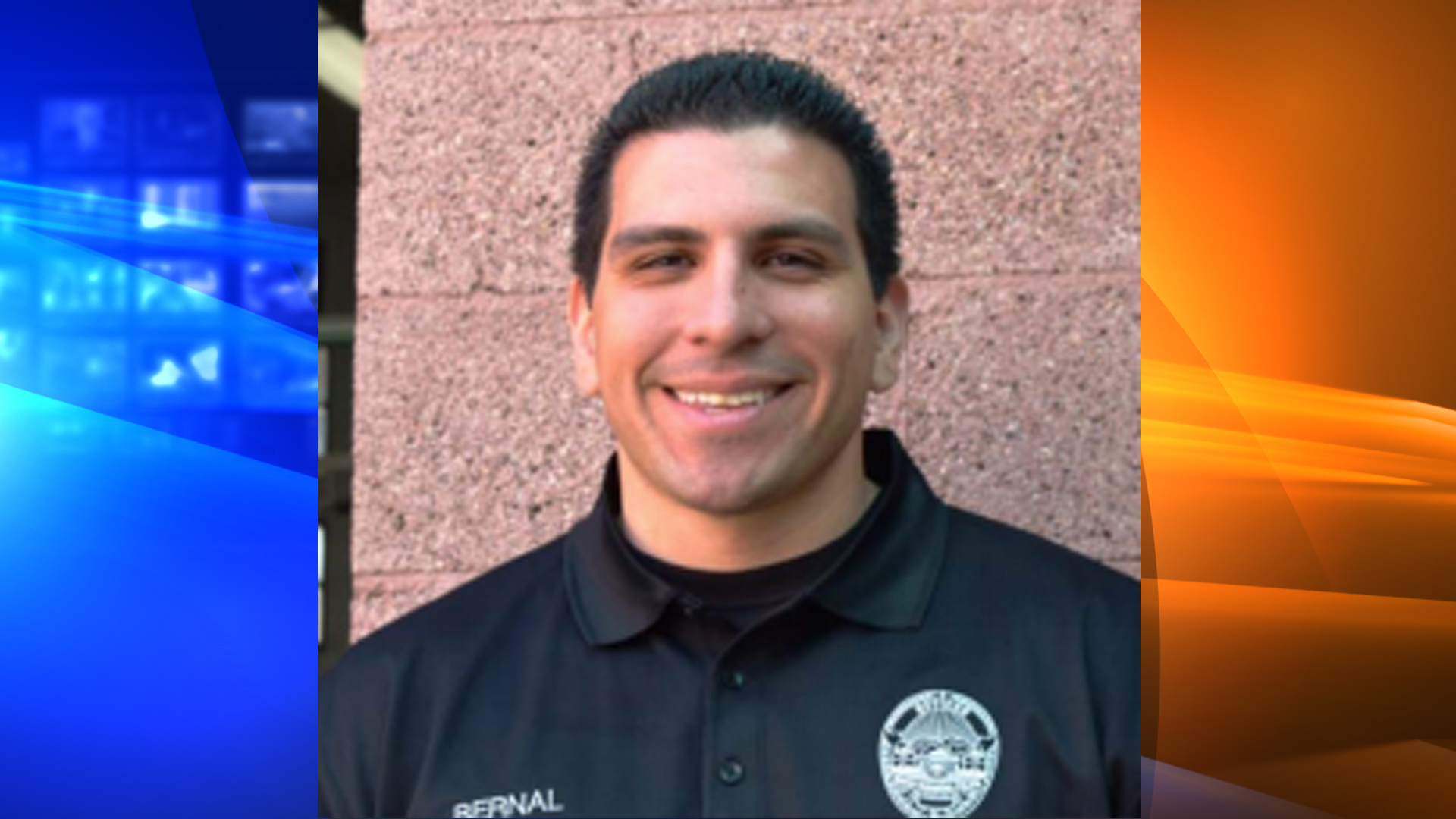 Former Cpl. Ryan Bernal is seen in from the South Pasadena Police Department's annual report in 2014.
