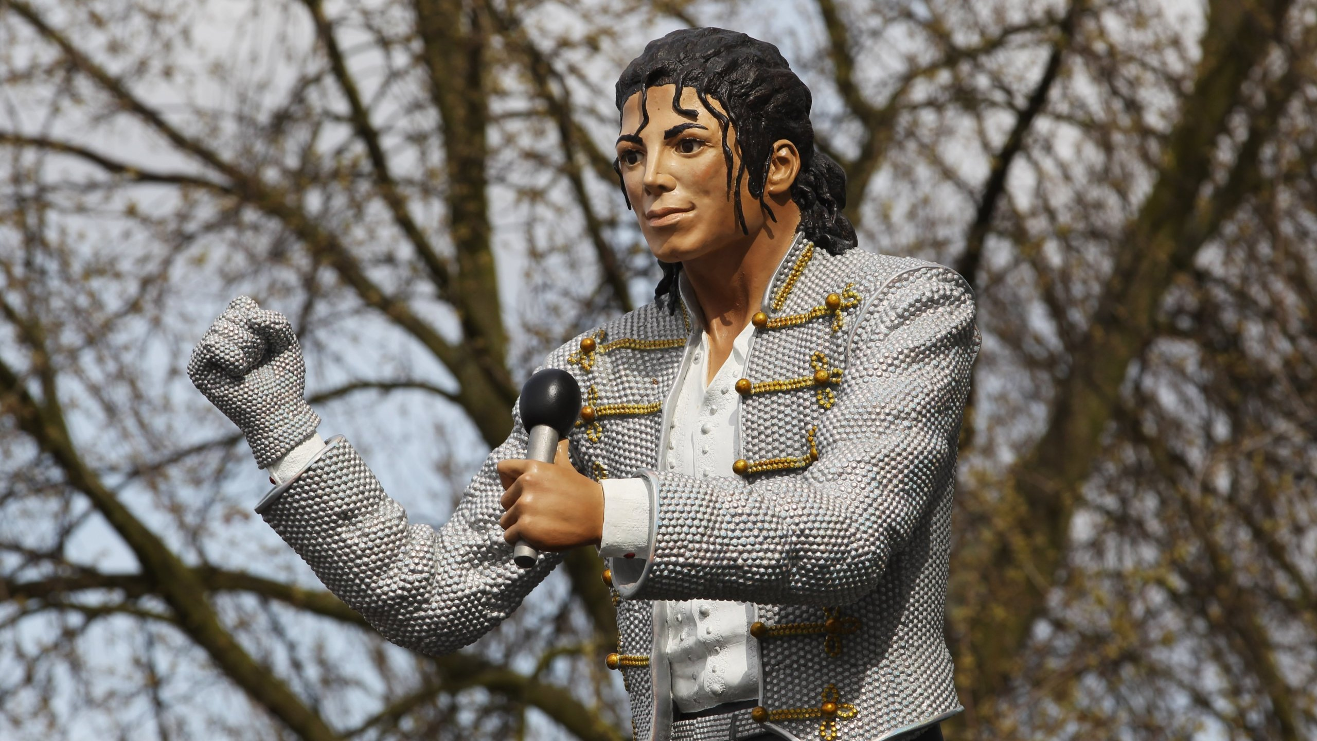 A statue of Michael Jackson has been removed from Britain's National Football Museum in the wake of fresh allegations of sexual abuse that continue to surround the pop superstar's legacy. (Credit: Ian Walton/Getty Images)