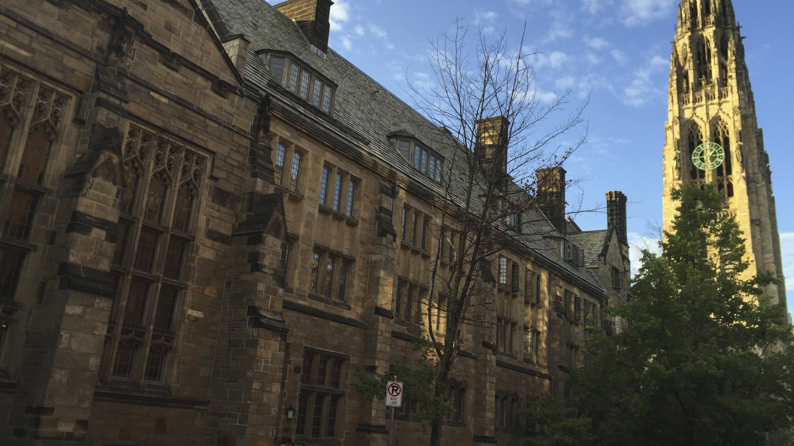 The Yale University campus is shown in this undated photo. (Credit: Beth Harpaz/Associated Press)