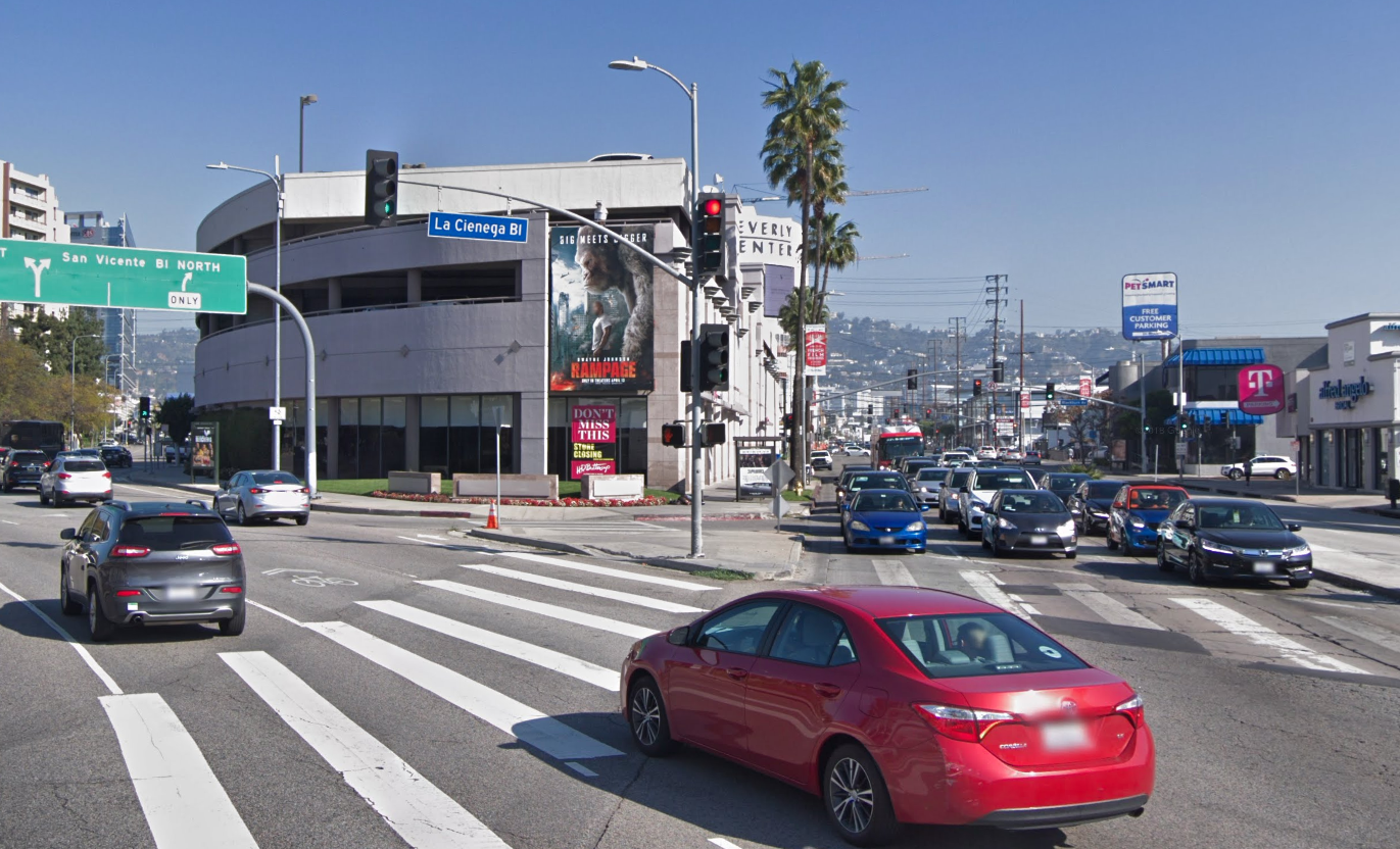 The Beverly Center is seen in a Google Maps image.