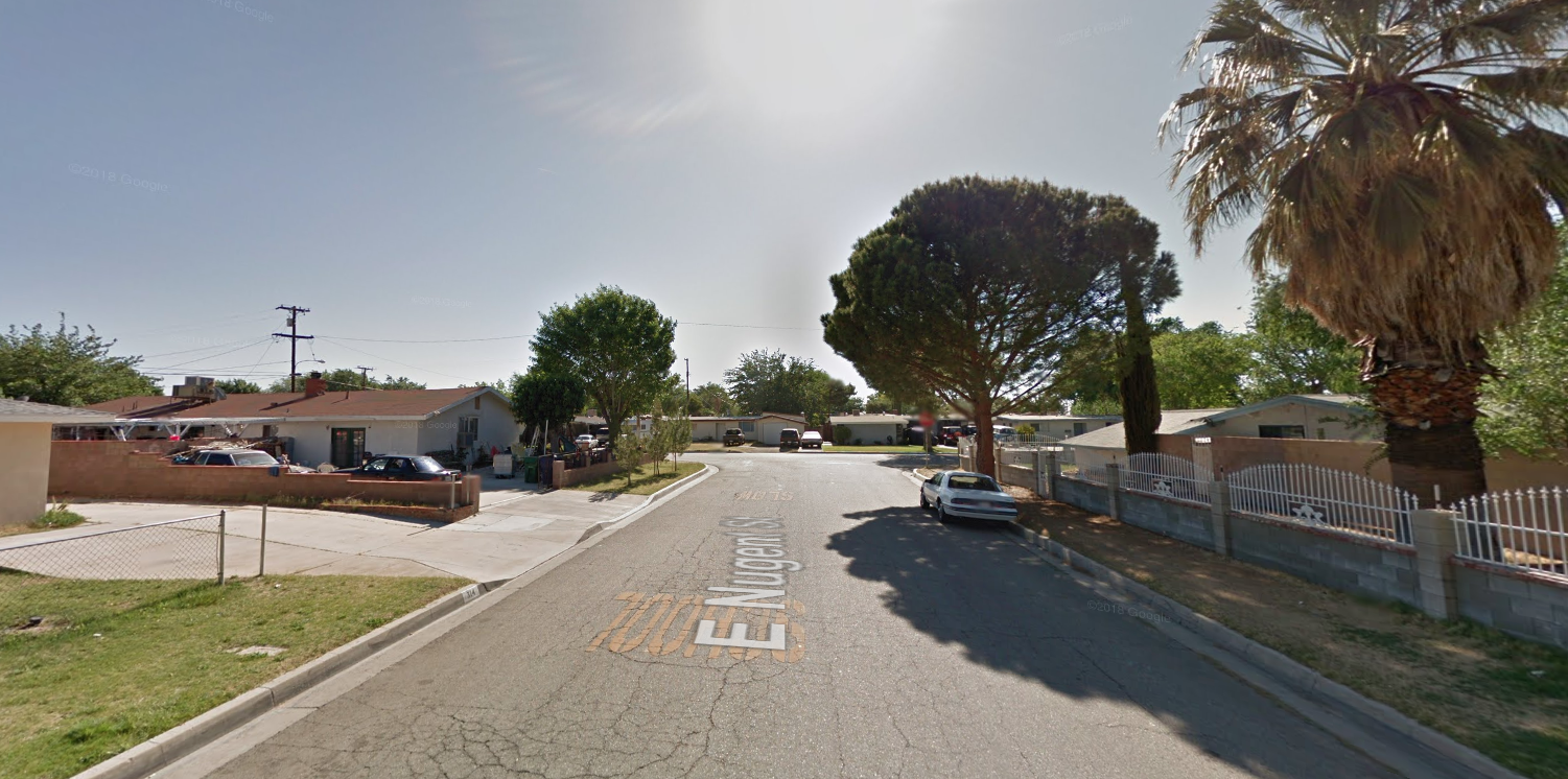 The 300 block of East Nugent Street in Lancaster is seen in a Google Maps Street view image on March 16, 2019.