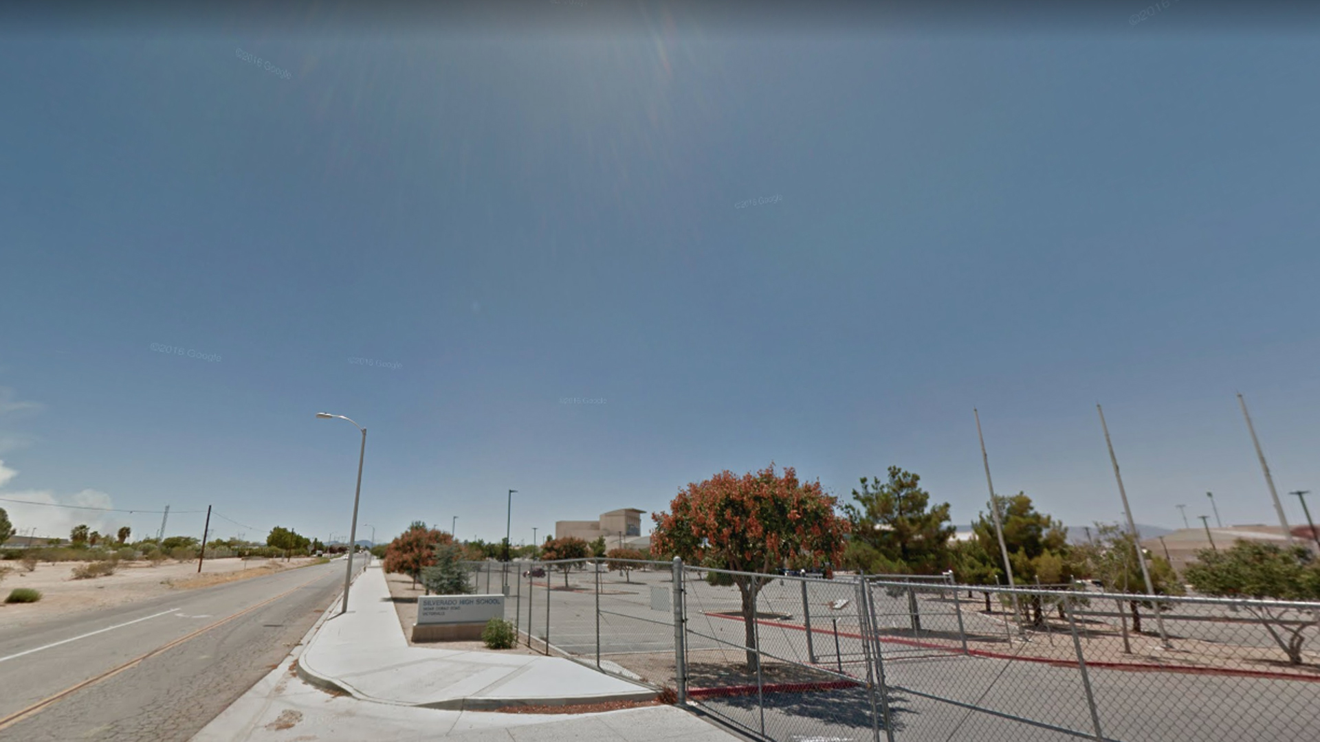 Silverado High School in Victorville is seen in this undated image from Google Maps.