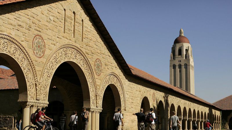Stanford University is shown in an undated file photo. (Credit: Al Seib / Los Angeles Times)
