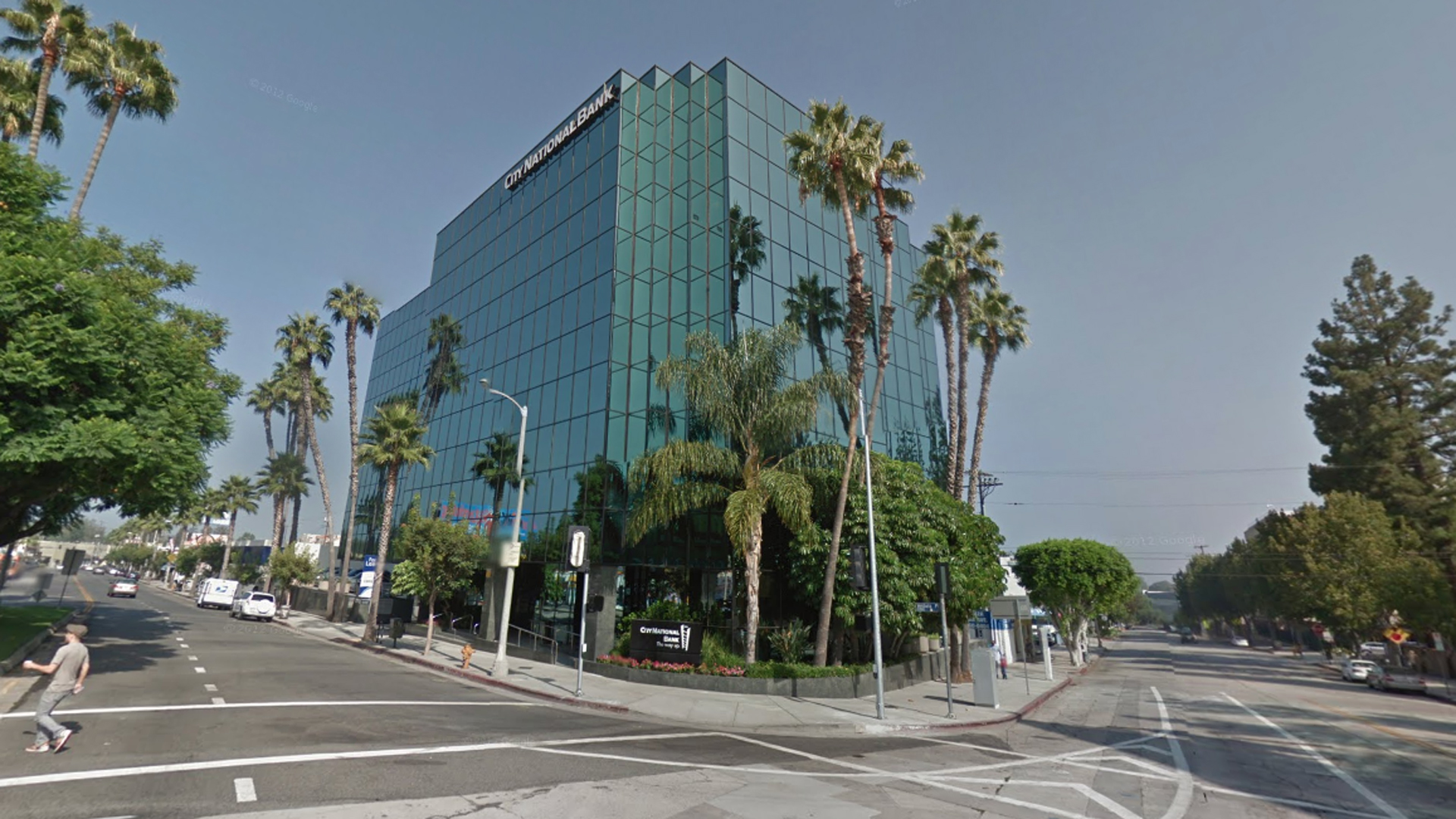 The building housing the CBS Employees Federal Credit Union at 12001 Ventura Place in Studio City, as seen i a Google Street View image in December of 2018.