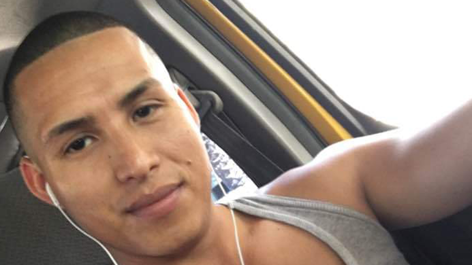 Leonides Rivas, 30, is seen in a photo his cousin provided to KTLA.