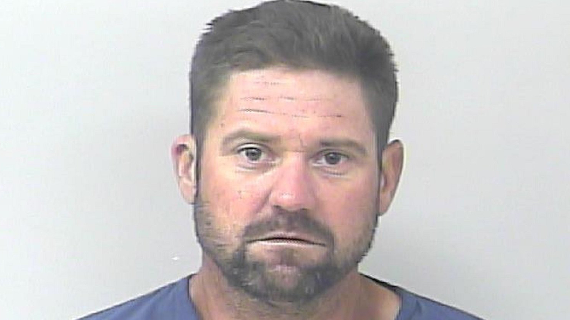 Casey Michael Lewis appears in a booking photo CNN obtained from the St. Lucie County Sheriff's Office in April 2019.