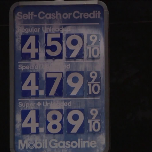 $4 gasoline is becoming more common around California, including in Los Angeles, in April 2019. (Credit: KTLA)