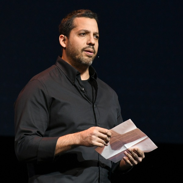 Magician David Blaine speaks during the Onward18 Conference in New York City on Oct. 24, 2018. (Credit: Craig Barritt / Getty Images)