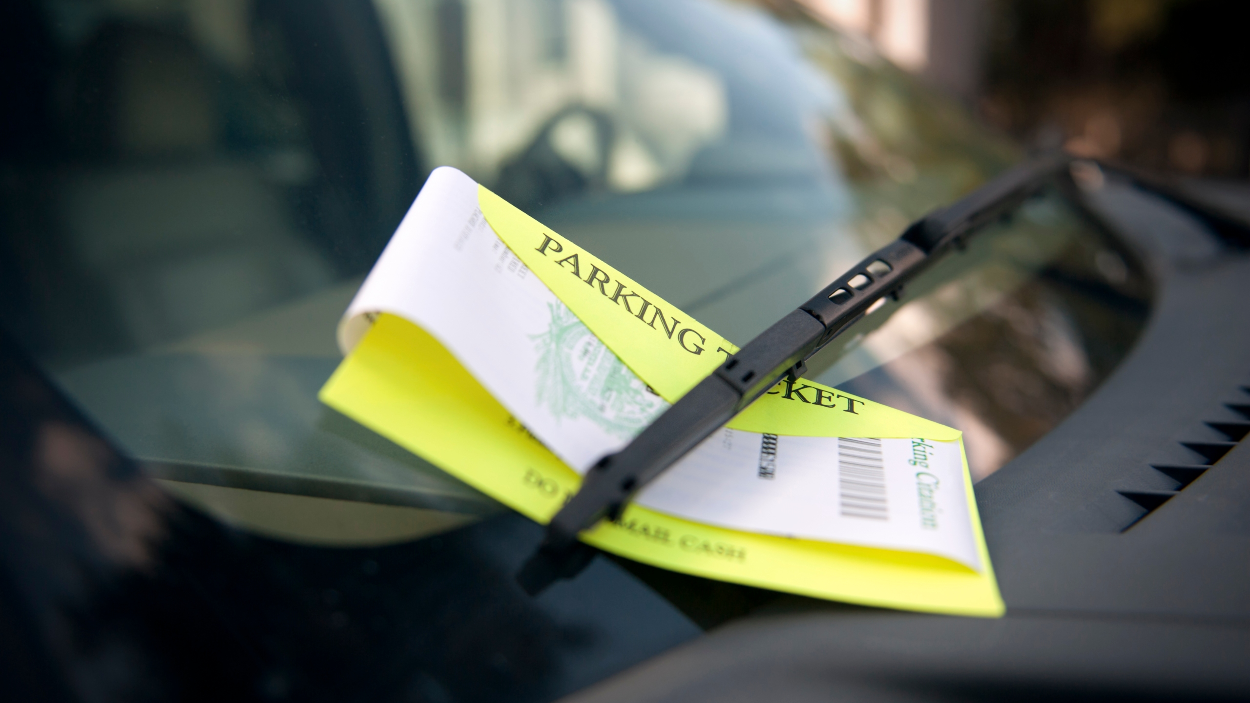 A parking ticket is seen in a file photo. (Credit: iStock / Getty Images Plus)