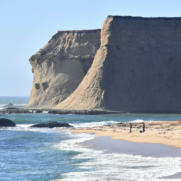 Martin's Beach in Half Moon Bay is seen in a photo from September 19, 2018. (Credit: JOSH EDELSON/AFP/Getty Images)