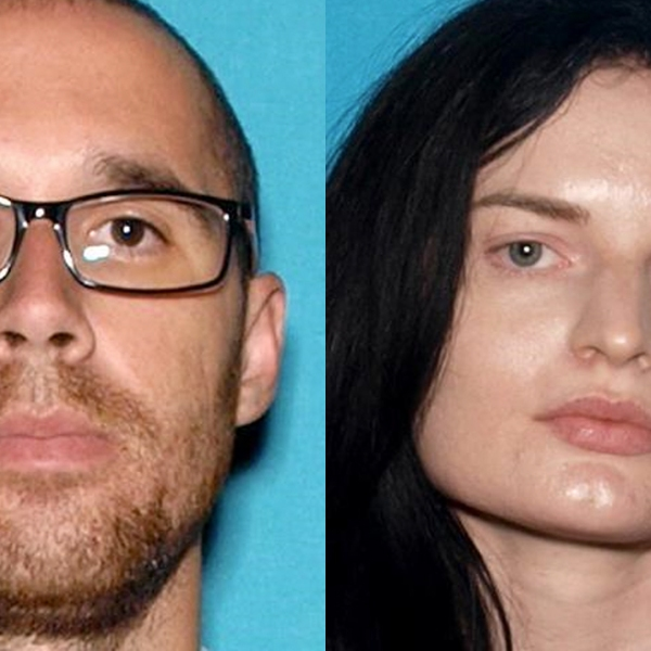 Eric Desplinter and Gabrielle Wallace are seen in images provided by the San Bernardino County Sheriff's Department.
