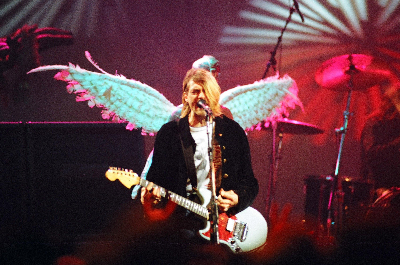 Personalized Nirvana Baby Jumpsuit Grunge Alternative rock Newborn Kurt Cobain