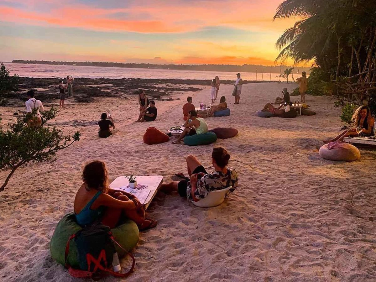 "Fed up with hearing from wannabe-Instagram ""influencers"" asking for free stuff in exchange for publicity, the owner of a beach club in the Philippines decided to take a stand. (Credit: CNN)"