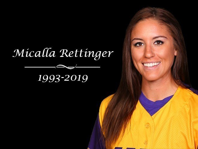 Micalla Rettinger was driving home from work when a bullet tore through the vehicle's driver's side window and killed her, the Waterloo Police Department said. (Credit: University of Northern Iowa)
