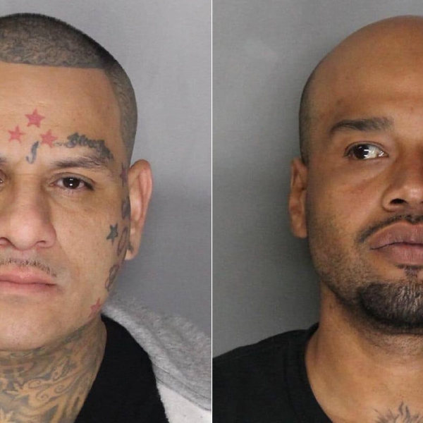 The Sacramento County Sheriff's Department released these booking photos of Anthony Mosqueda, left, and Jose Smith, right.