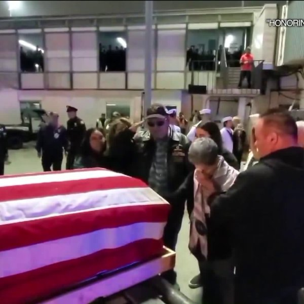 The body of a sailor from Montebello who was killed in Vietnam 52 years ago was returned to Southern California to be laid to rest with honors on April 24, 2019. (Credit: Honoring Our Fallen)