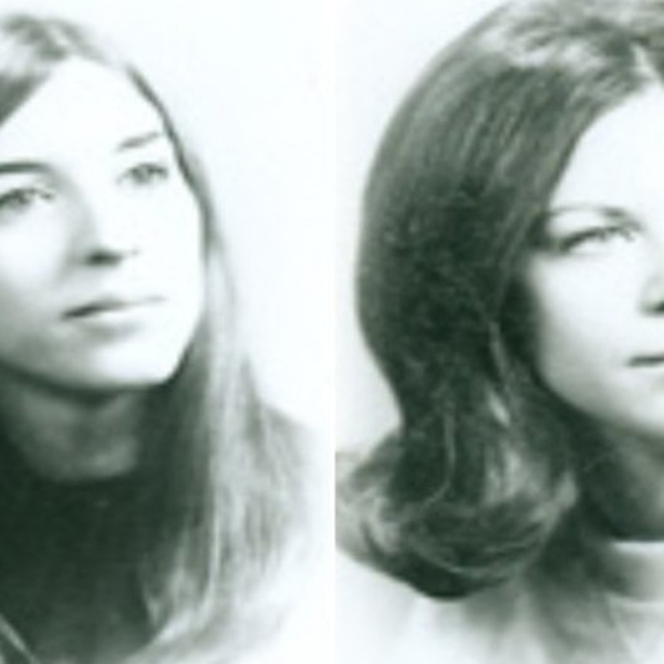 Janice Pietropola, left, and Lynn Seethaler, right, were killed in June 1973 in Virginia Beach. (Credit: Virginia Beach Police)