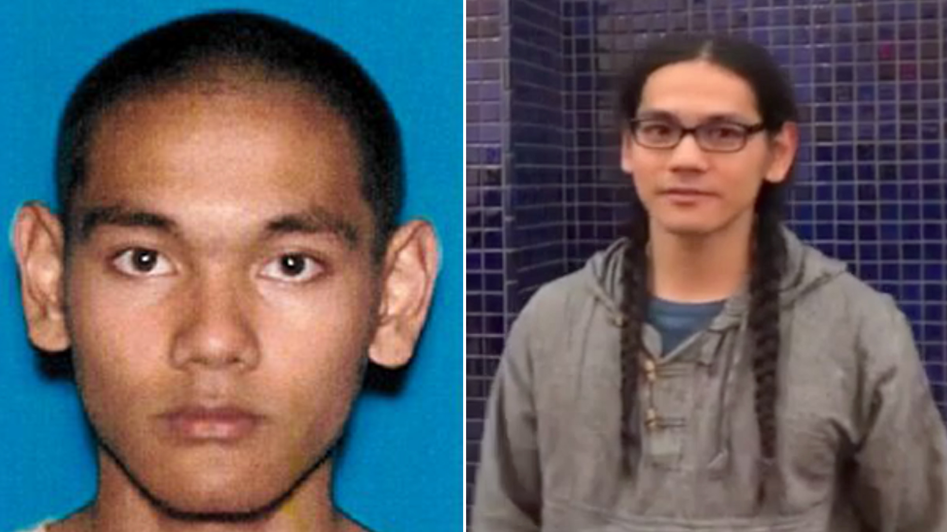 Mark Steven Domingo appears in undated photos provided by the FBI on April 29, 2019.