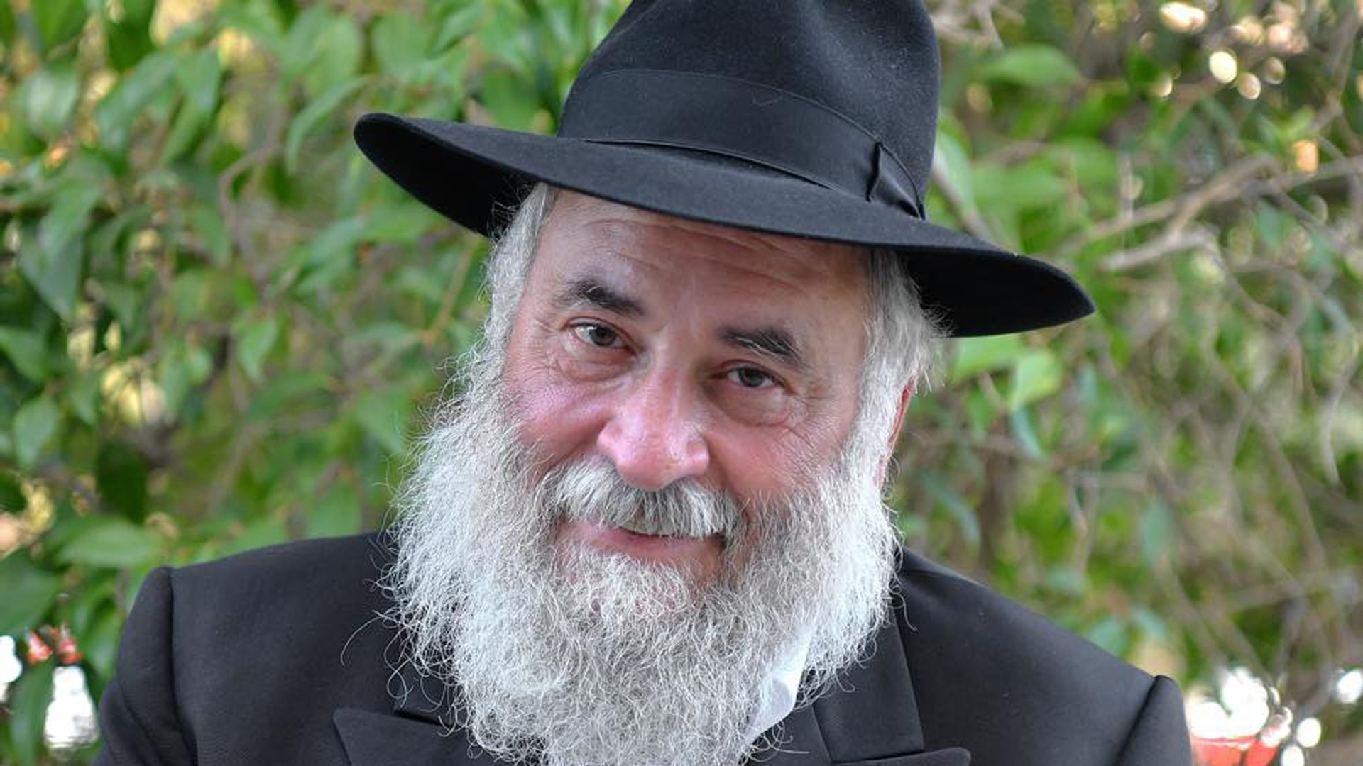 Yisroel Goldstein appears in an image CNN obtained on April 28, 2019.