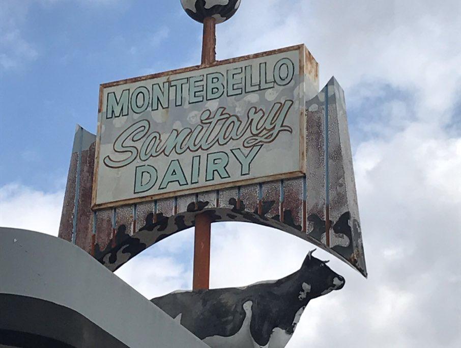 Broguiere's Dairy on Maple Avenue in Montebello is seen on May 21, 2019. (Credit: @drunkensquid / Instagram)