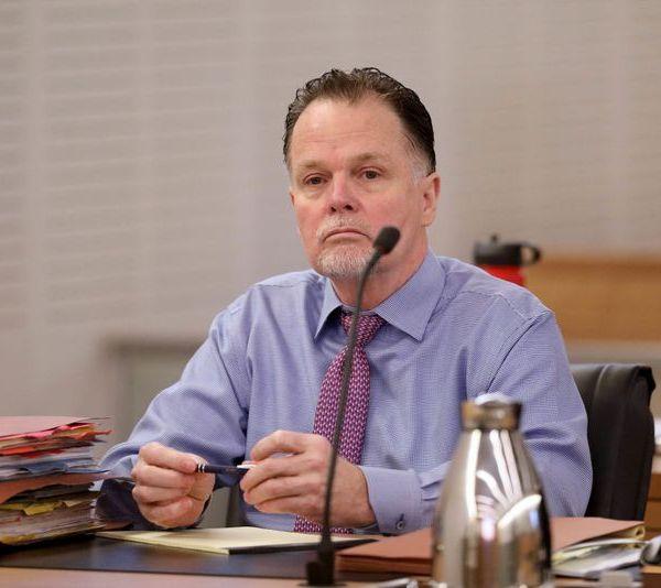 Charles Merritt appears in court in San Bernardino in an undated image. (Credit: Gary Coronado / Los Angeles Times)