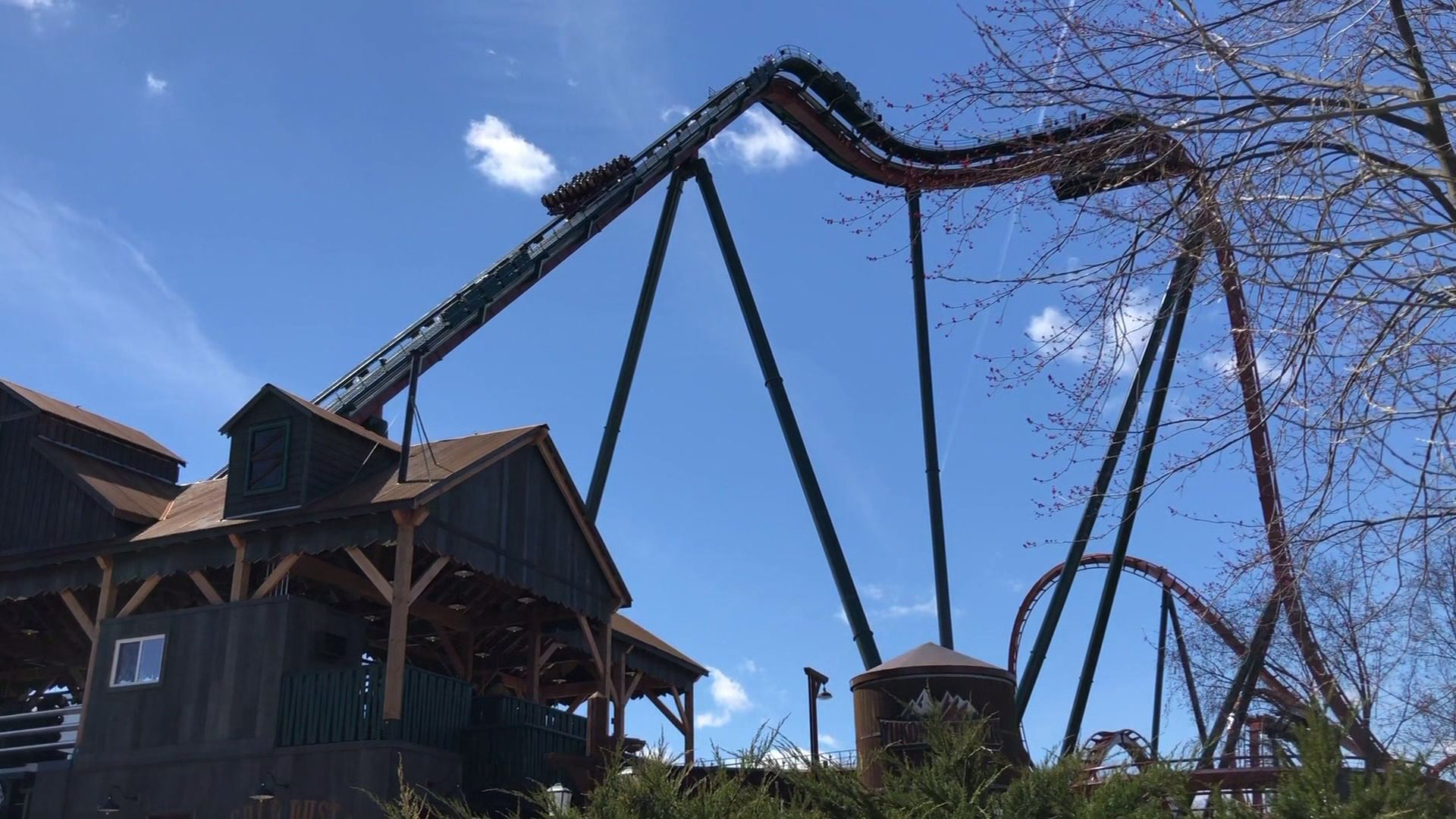 The Yukon Striker roller coaster is set to open at Canada's Wonderland theme park on May 3, 2019. (Credit: WGN)