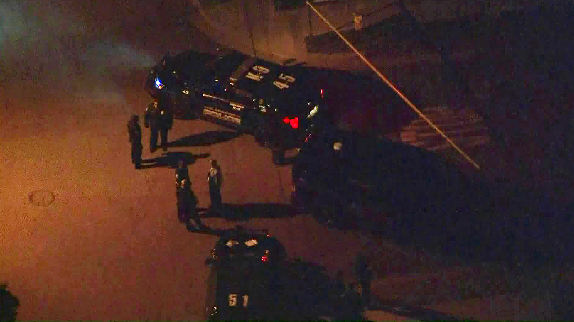 Police conduct a death investigation in El Segundo on April 30, 2019. (Credit: KTLA)