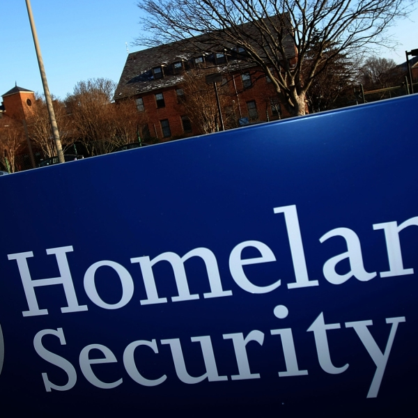 The Department of Homeland Security main office is shown Jan. 8, 2010, in Washington, DC. (Credit: Win McNamee/Getty Images)