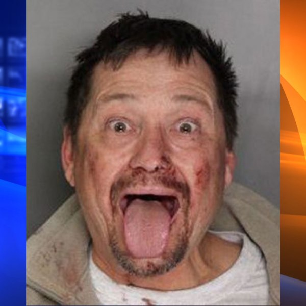 John Chandler is seen in a booking photo released by Elk Grove police.