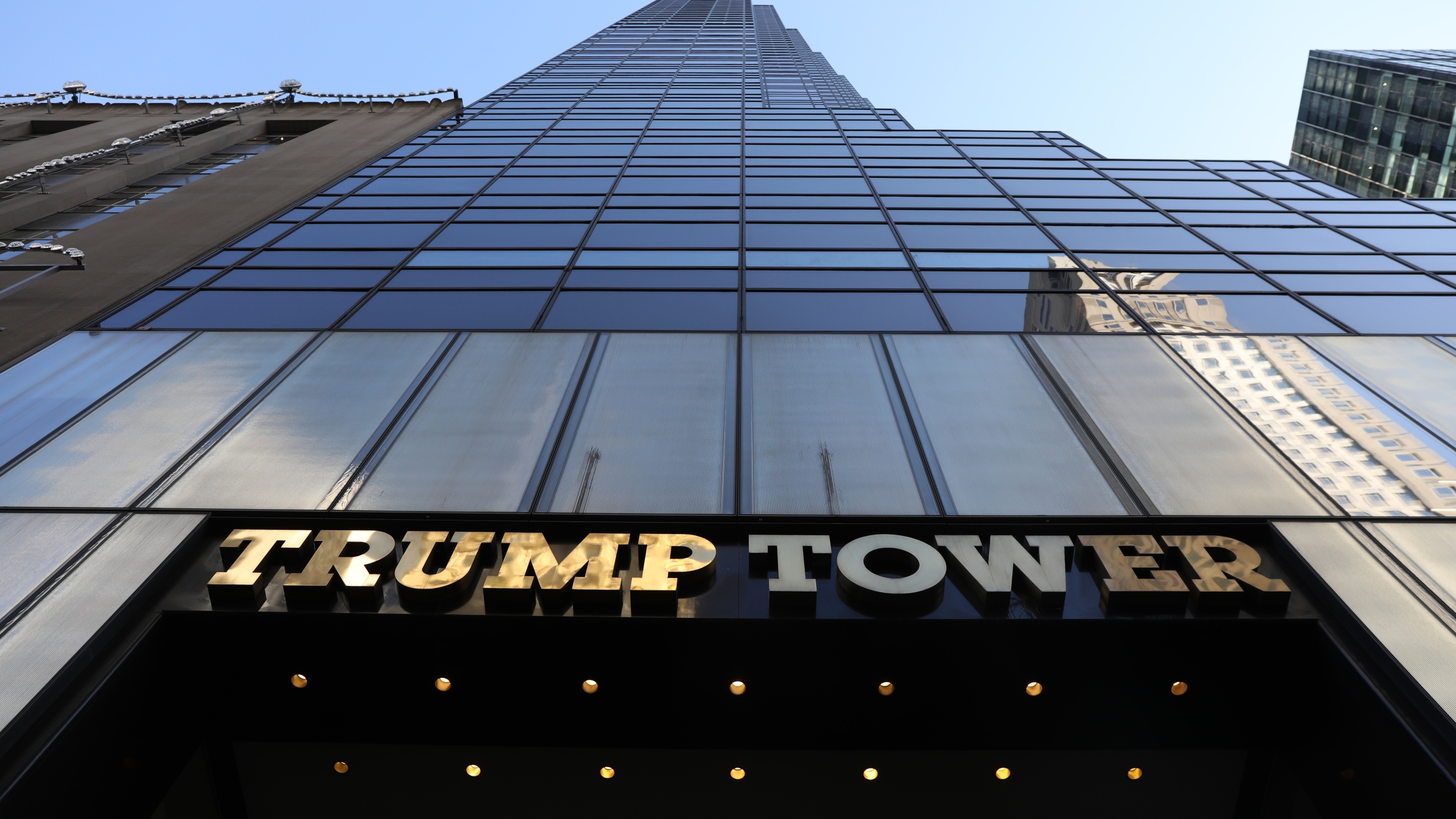 Trump Tower stands in midtown Manhattan on Dec. 10, 2018 in New York City. (Credit: Spencer Platt/Getty Images)