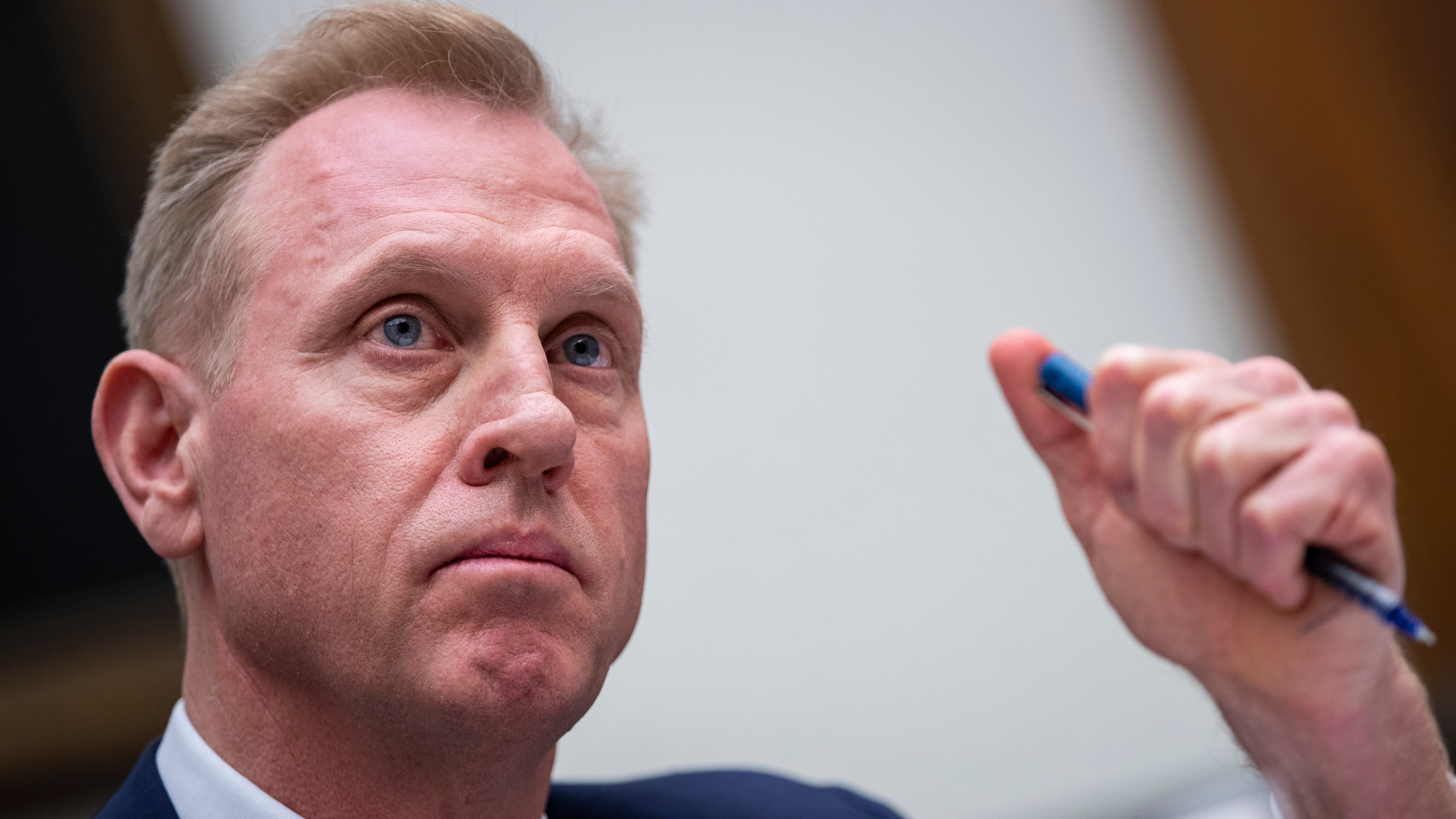 Acting Secretary of Defense Patrick Shanahan testifies during a House Armed Services Committee hearing regarding the fiscal year 2020 National Defense Authorization Budget Request from the Department of Defense on March 26, 2019. (Credit: Drew Angerer/Getty Images)