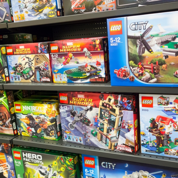 Lego boxes are seen in a file photo. (Credit: iStock / Getty Images)