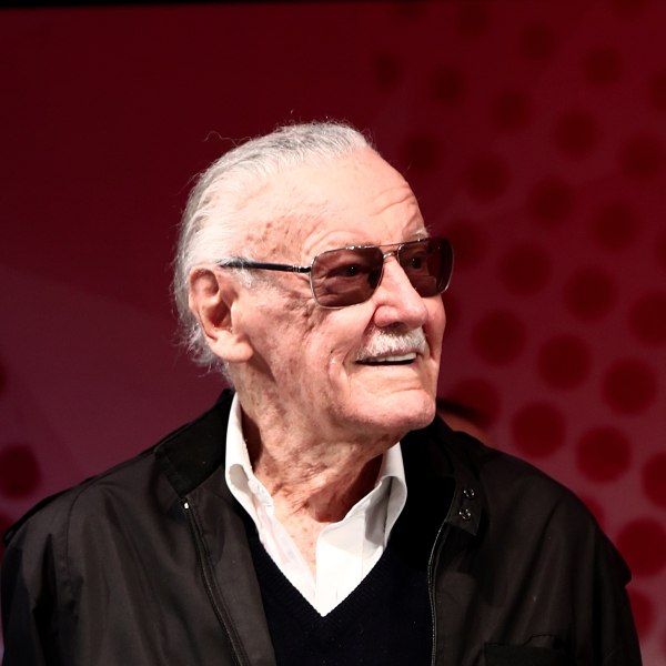 Stan Lee attends a talk show during the Tokyo Comic Con in Chiba, a suburb of Tokyo, on Dec. 2, 2016. (Credit: BEHROUZ MEHRI/AFP/Getty Images)