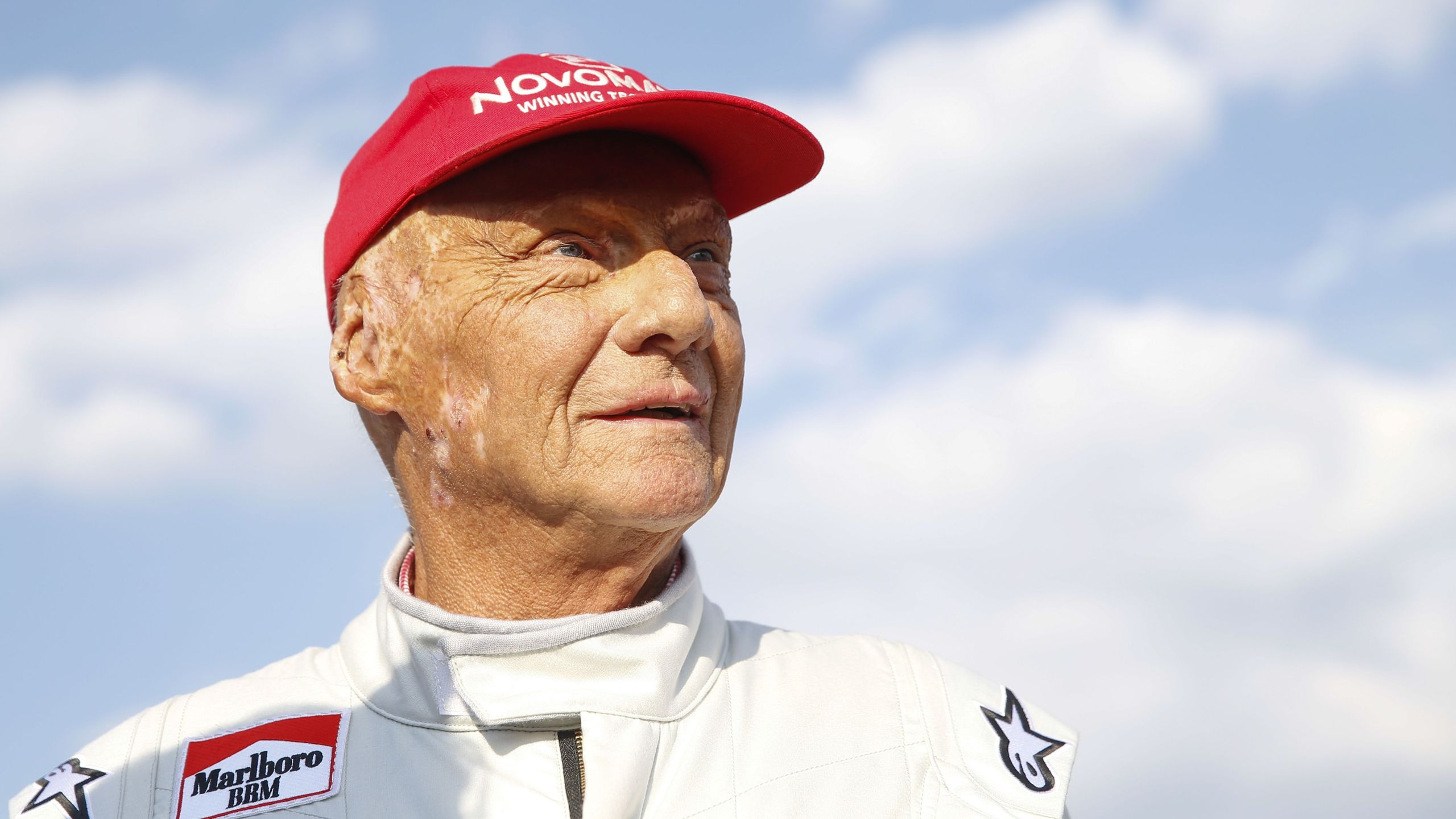 "Formula One legend Austrian Niki Lauda attends the ""legends race"" at the racetrack in Spielberg on June 30, 2018, ahead of the Austrian Formula One Grand Prix. (Credit: ERWIN SCHERIAU/AFP/Getty Images)"