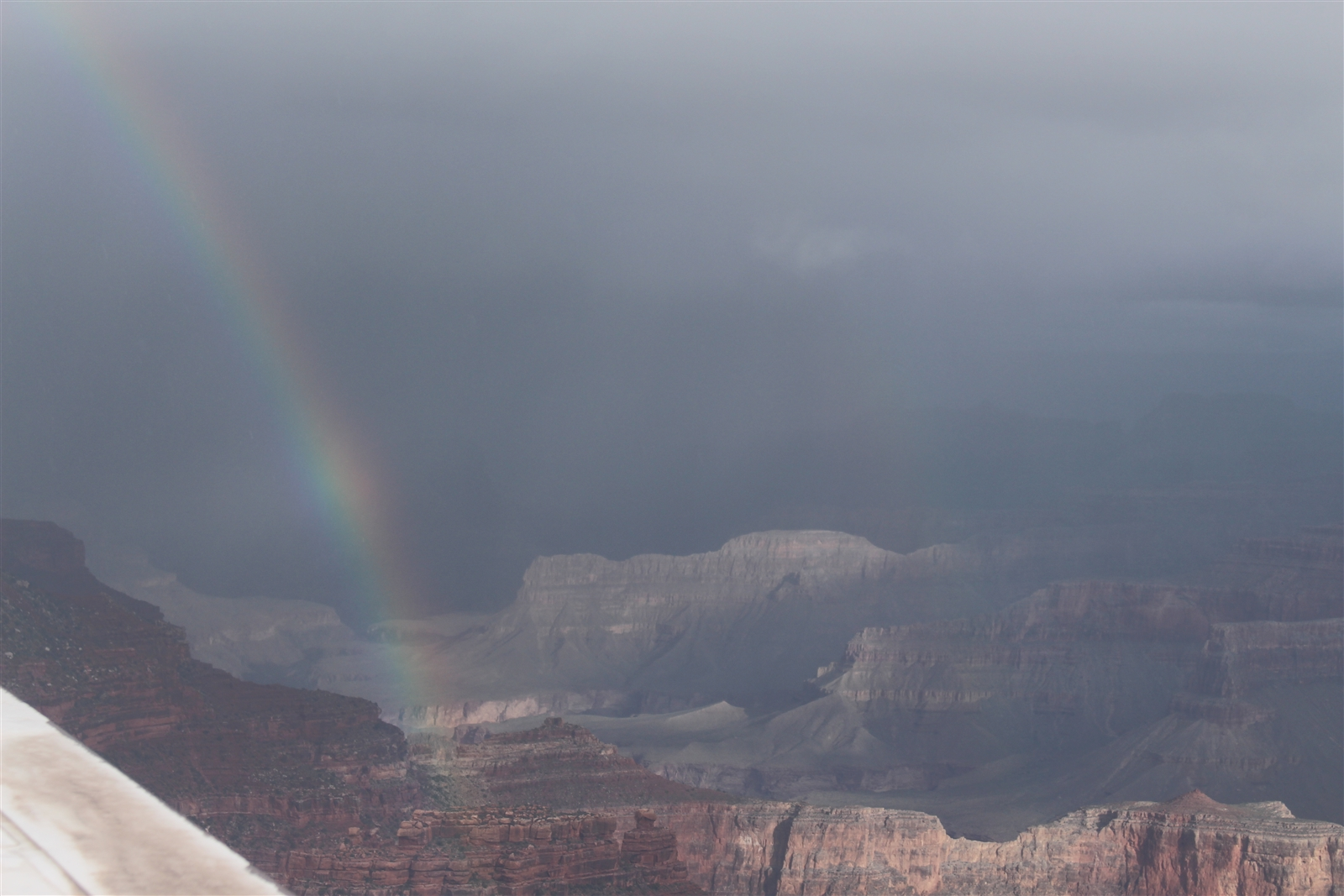 A still from a National Park Service webcam shows the view from Yavapai Point at the Grand Canyon National Park on May 27, 2019.