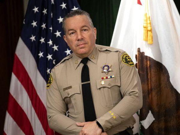 Los Angeles County Sheriff Alex Villanueva is seen in an undated photo. (Credit: Allen J. Schaben / Los Angeles Times)