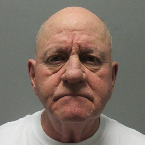 Dean May, 69, pictured in a photo released by the La Verne Police Department following his arrest on March 24, 2019.