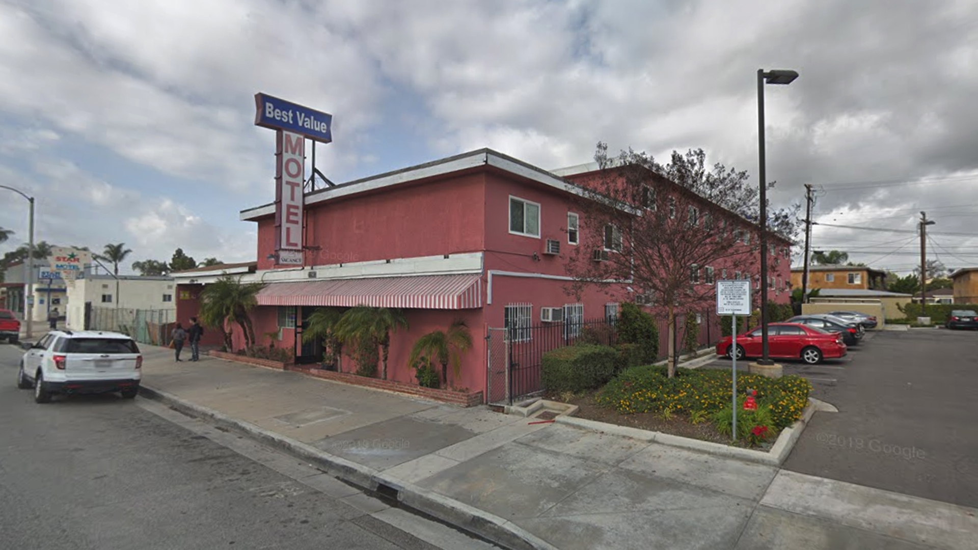 The Best Value Motel, 11907 Firestone Blvd. in Norwalk, as pictured in a Google Street View image in January of 2019.