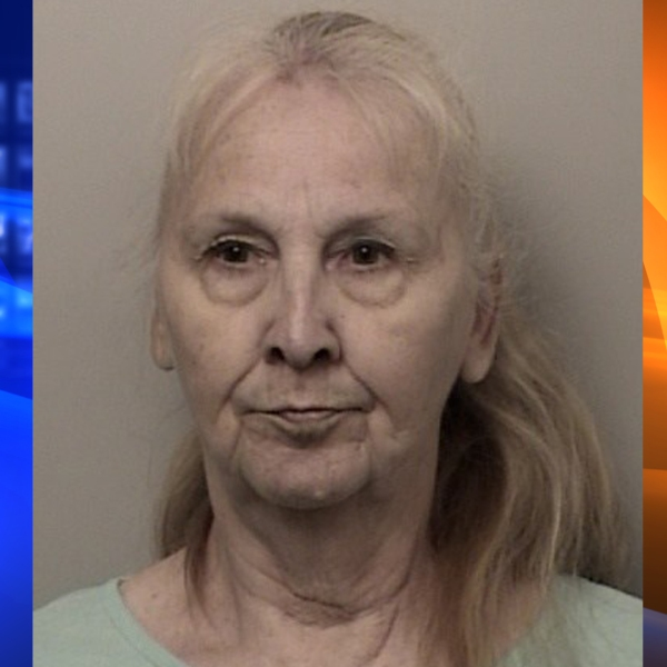 Patricia Taylor appears in a booking photo released by the El Dorado County Sheriff's Office on May 10, 2019.