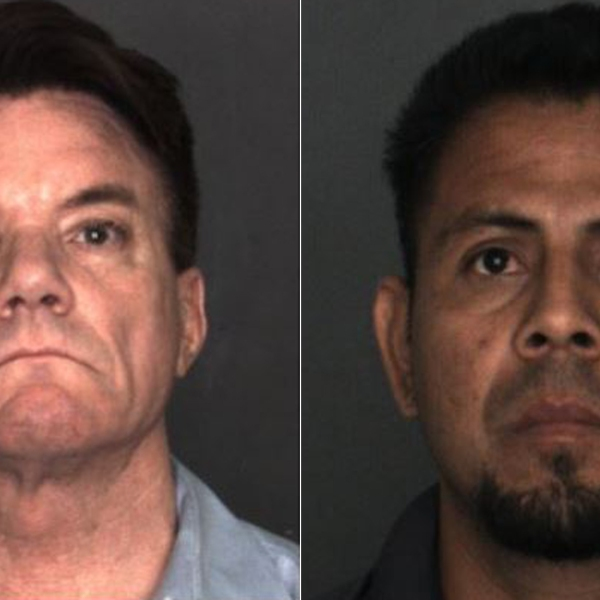 Frank Geraci, left, and Jose Rosales-Becerra, right, are shown in photos released by the Rancho Cucamonga Police Department on May 1, 2019.