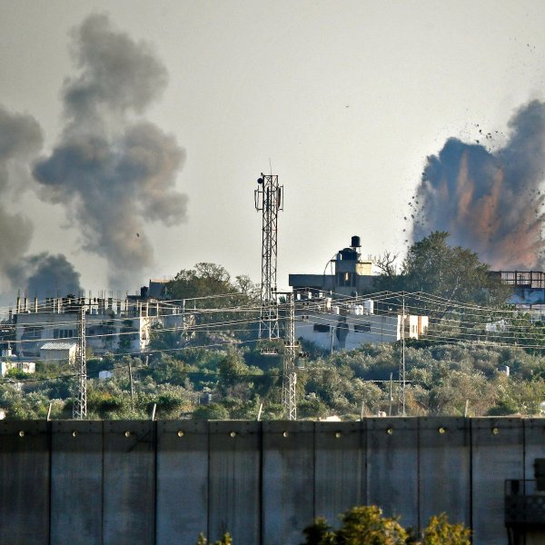 In response to a barrage of hundreds of rockets, the IDF says it has carried out airstrikes on more than 30 militant targets in Gaza. (Credit: CNN)