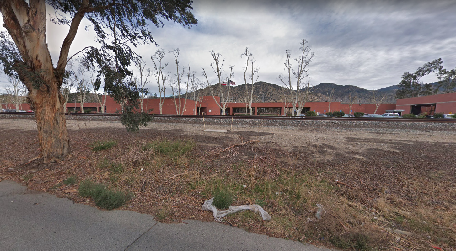 The Barry J. Nidorf Juvenile Hall in Sylmar is seen in a Google Maps Street View image on May 19, 2019.