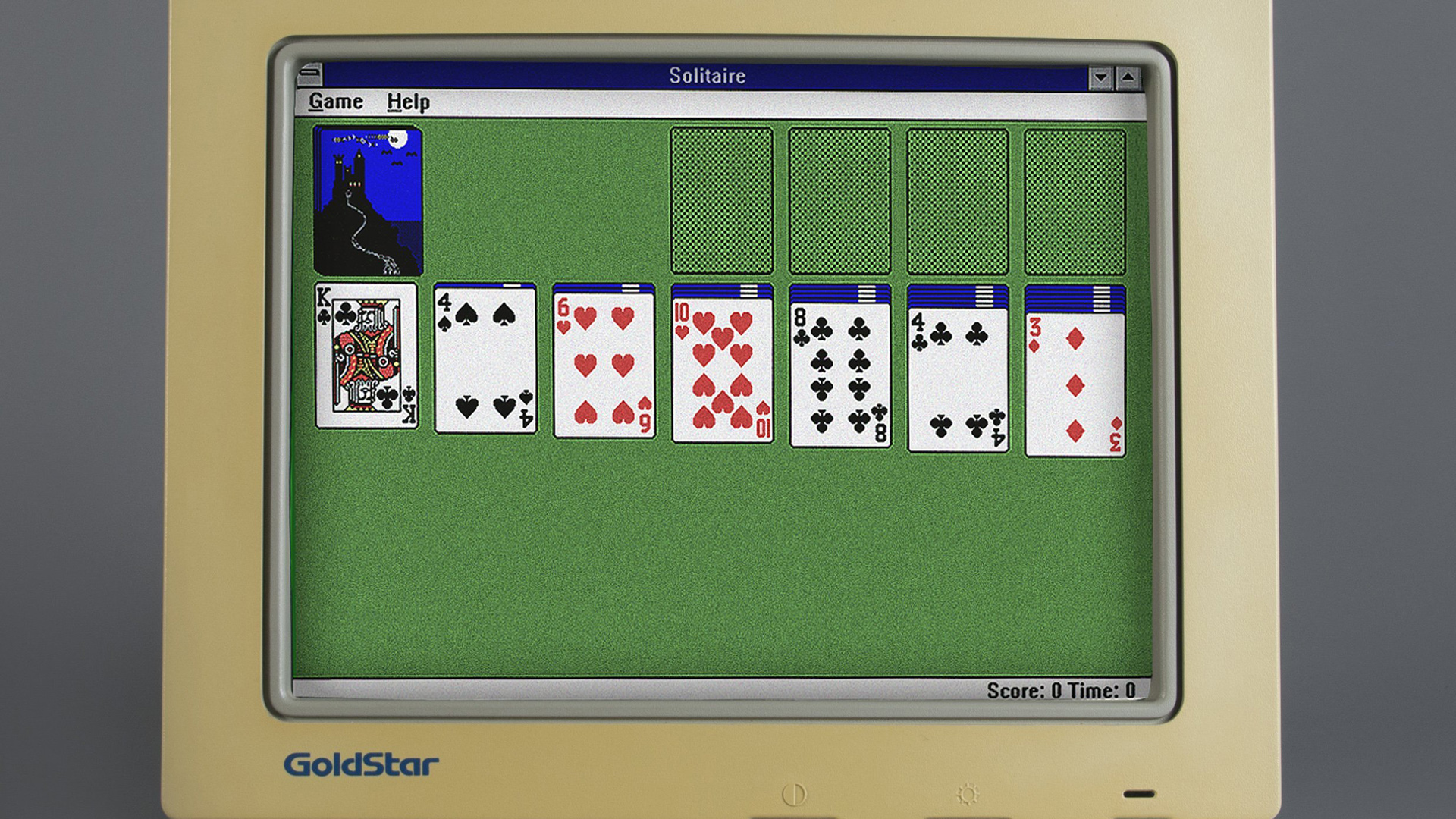 Microsoft Solitaire has been installed on more than a billion computers since its debut in 1990. (Credit: CNN)