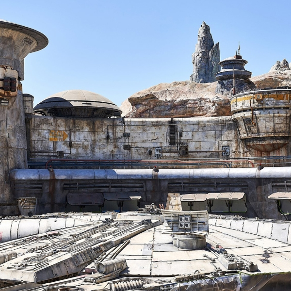 Star Wars: Galaxy's Edge opens on May 31, 2019. (Credit: Michelle Groskopf for CNN)