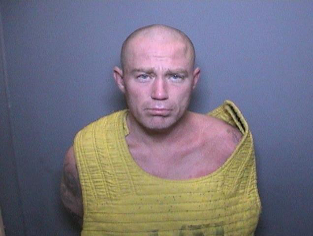 Tyson Mayfield, 43, is seen in an undated booking photo released May 20, 2019, by the Orange County District Attorney's Office.