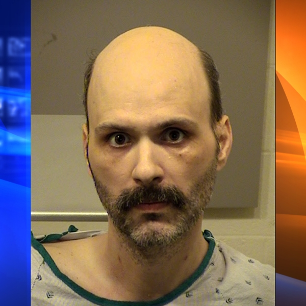 Christopher Hays, 37, of Ventura, pictured in a photo released by the Ventura County Sheriff's Department following his arrest on May 30, 2019.