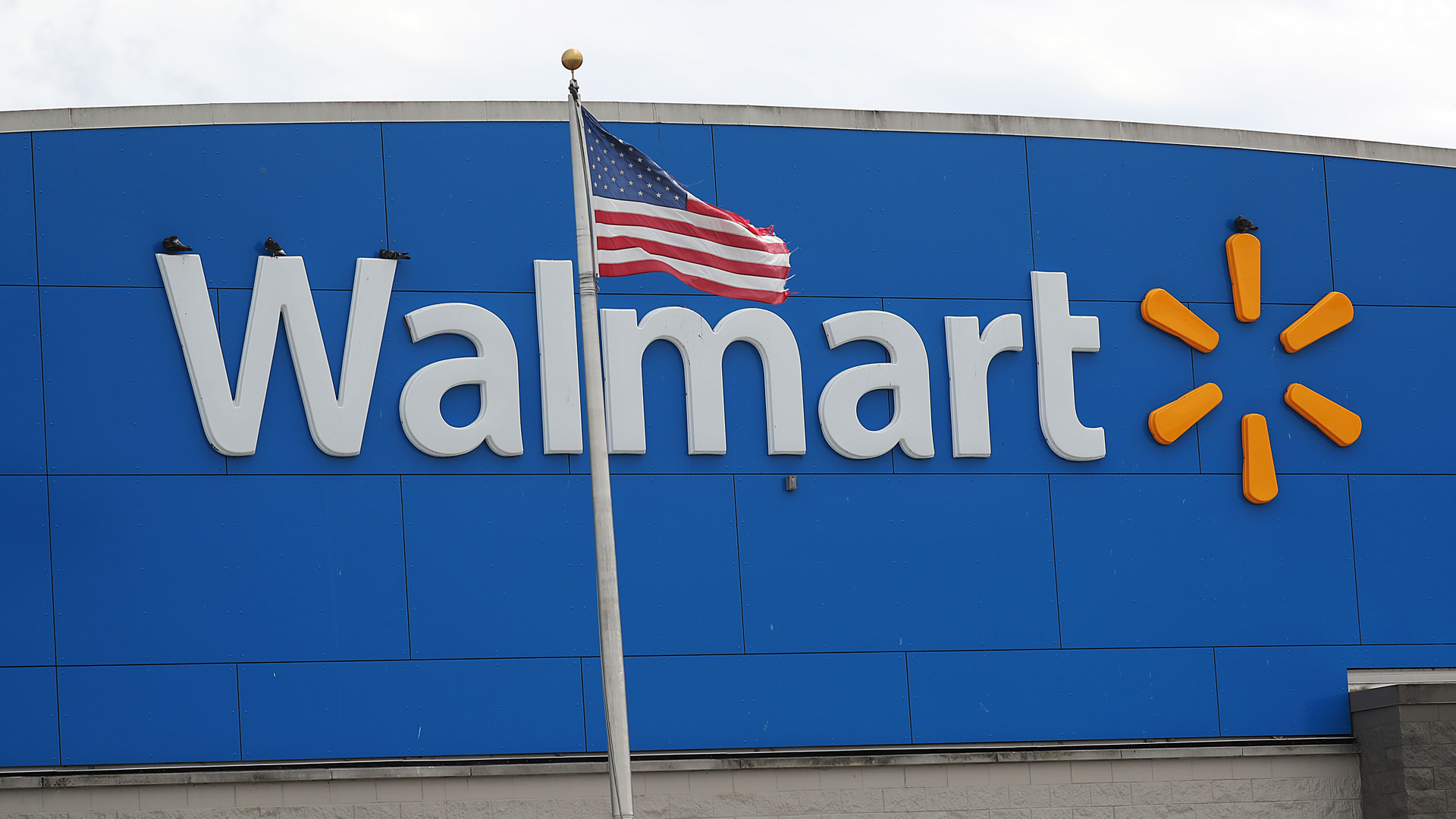A Walmart store is seen on May 16, 2019 in Miami, Florida. (Credit: by Joe Raedle/Getty Images)