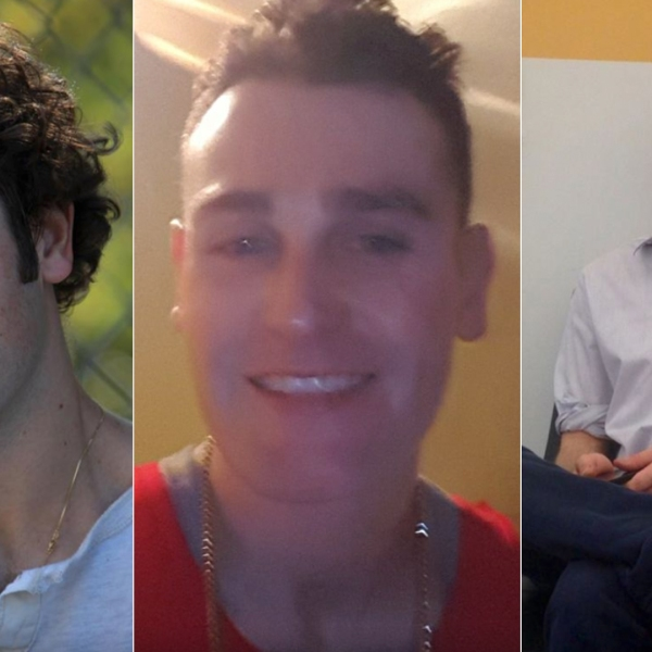 Ryan Conrad is shown in photos released by the Los Angeles Police Department on May 24, 2019. (Credit: KTLA)